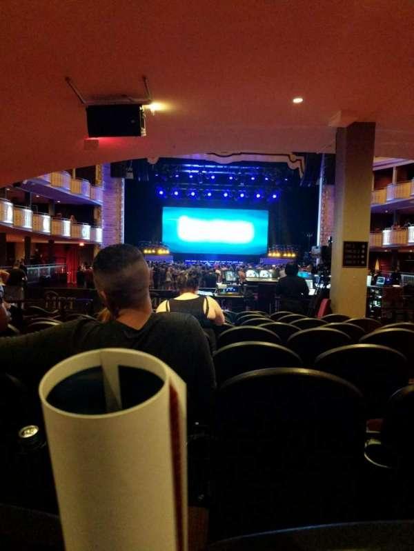 The Met Philadelphia, secção: Orchestra 9, fila: J, lugar: 4