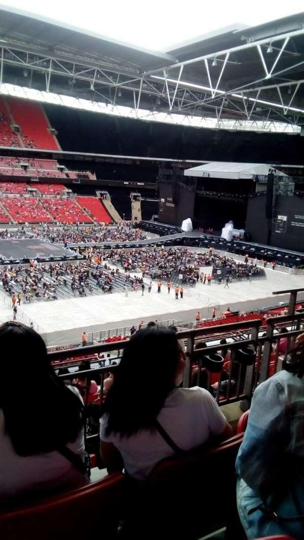 Wembley stadium, secção: 202, fila: 10, lugar: 30
