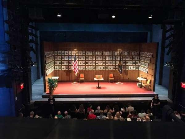Hayes Theater, secção: Mezzanine C, fila: A, lugar: 109