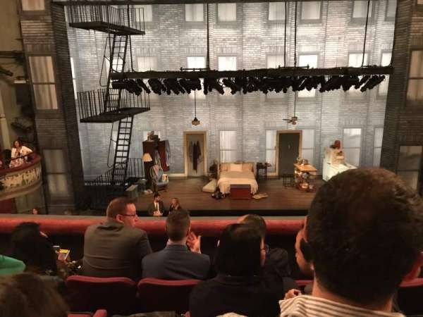 Broadhurst Theatre, secção: Mezzanine C, fila: D, lugar: 107