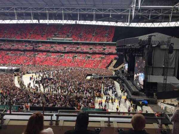 Wembley Stadium, secção: 249, fila: 5, lugar: 226