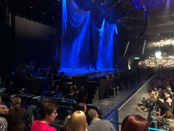 Arena Birmingham, secção: Block 12, fila: H, lugar: 518