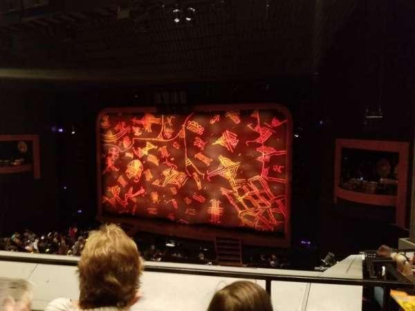 Minskoff Theatre, secção: Mezzanine, fila: B, lugar: 143