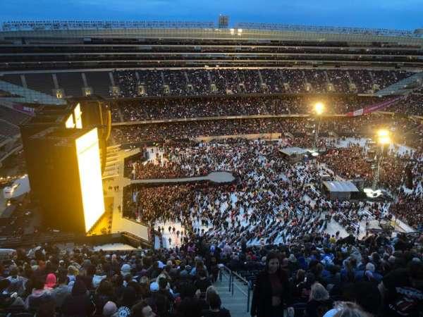Soldier Field, secção: 441, fila: 32, lugar: 22