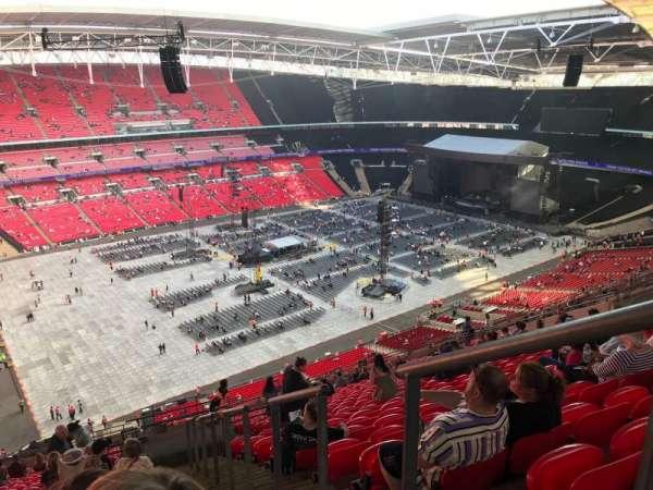 Wembley Stadium, secção: 505, fila: 25, lugar: 138