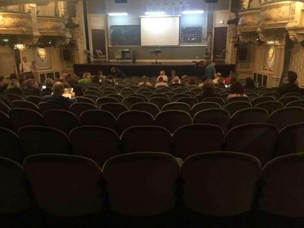 Wyndham's Theatre, secção: Stalls, fila: R, lugar: 12
