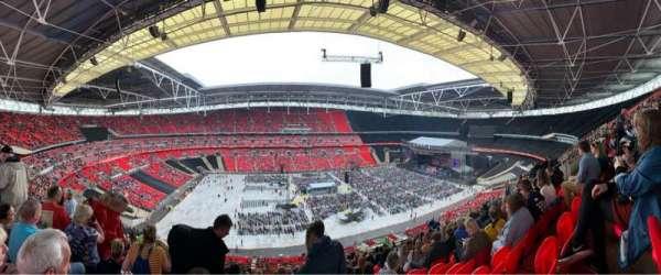 Wembley Stadium, secção: 503, fila: 62, lugar: 64