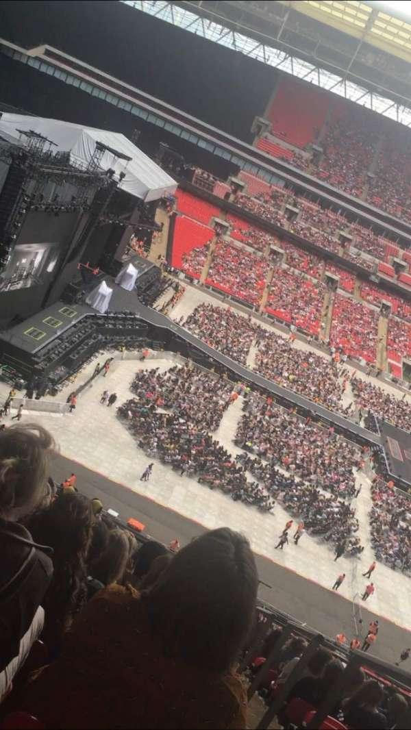 Wembley Stadium, secção: 529, fila: 13, lugar: 78