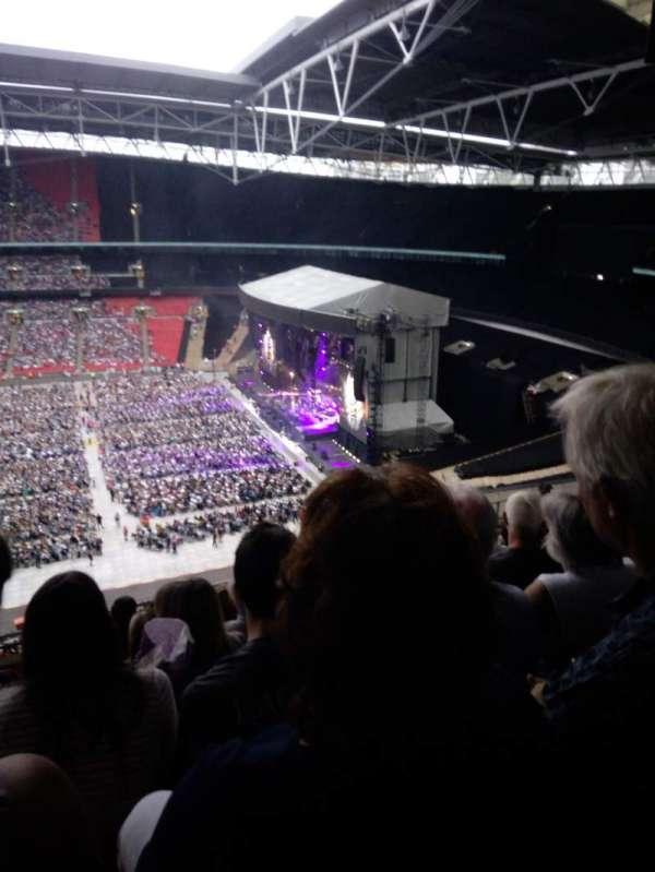 Wembley Stadium, secção: K, fila: 11, lugar: 330