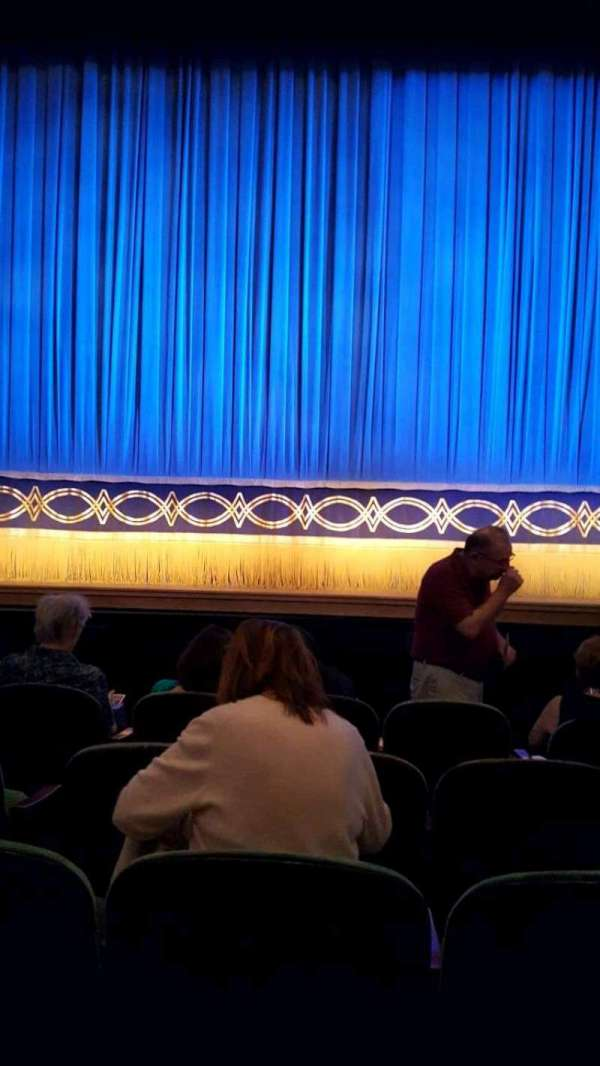 Huntington Avenue Theatre, secção: Orchestra, fila: E, lugar: 109