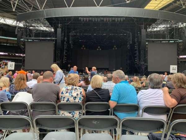 Wembley Stadium, secção: B4, fila: N, lugar: 16