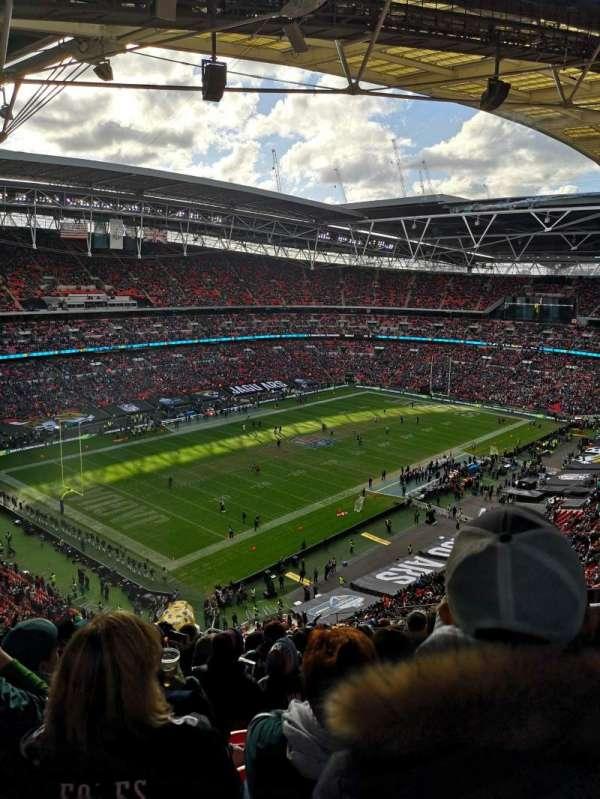 Wembley Stadium, secção: 507, fila: 19, lugar: 211