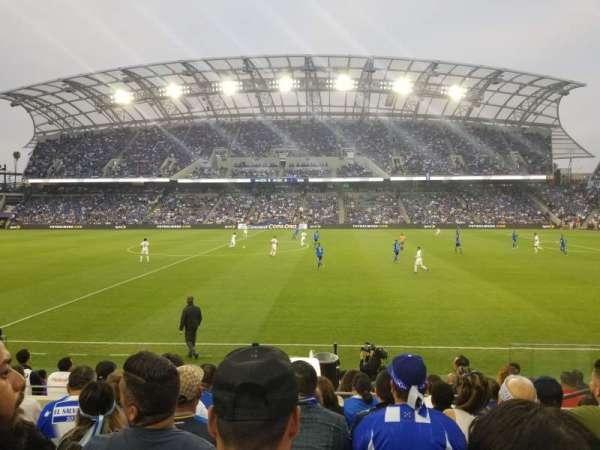 Banc of California Stadium, secção: Field Club B, fila: G, lugar: 10