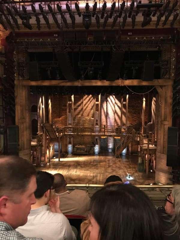 CIBC Theatre, secção: Mezzanine RC, fila: D, lugar: 304