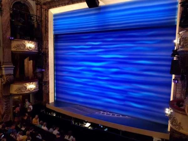 Novello Theatre, secção: Dress Circle, fila: A, lugar: 3