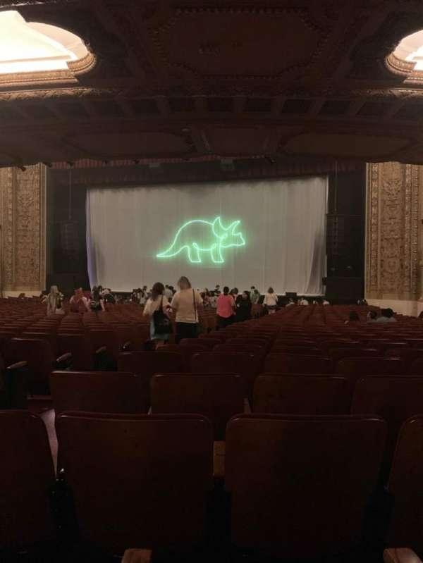 Chicago Theatre, secção: MNFL3R, fila: P, lugar: 306