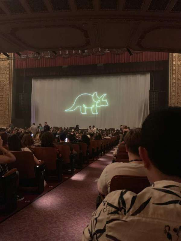 Chicago Theatre, secção: MNFL3R, fila: K, lugar: 302