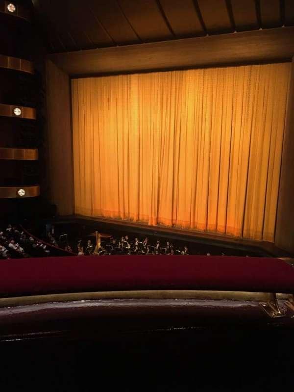 David H. Koch Theater, secção: Second Ring, fila: A, lugar: 20