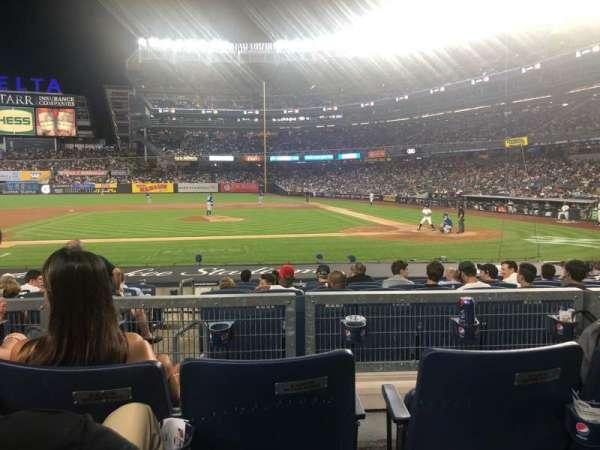Yankee Stadium, secção: 123, fila: 3, lugar: 7
