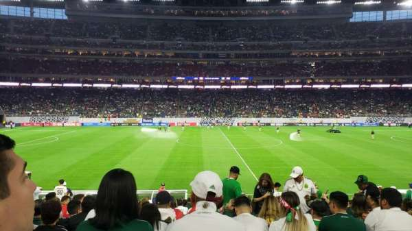 NRG Stadium, secção: 107, fila: U, lugar: 10