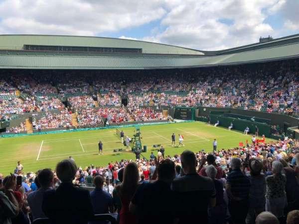 Wimbledon, Court No. 1, secção: 35, fila: O, lugar: 364