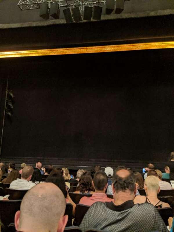 Ambassador Theatre, secção: Orchestra C, fila: G, lugar: 111