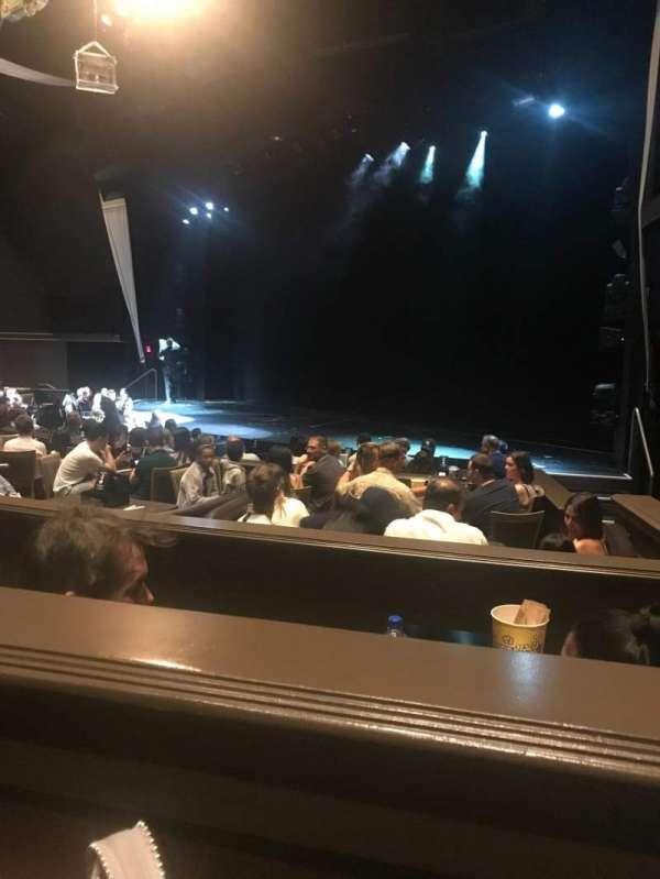 David Copperfield Theatre, secção: 1, fila: Table 16F, lugar: 3