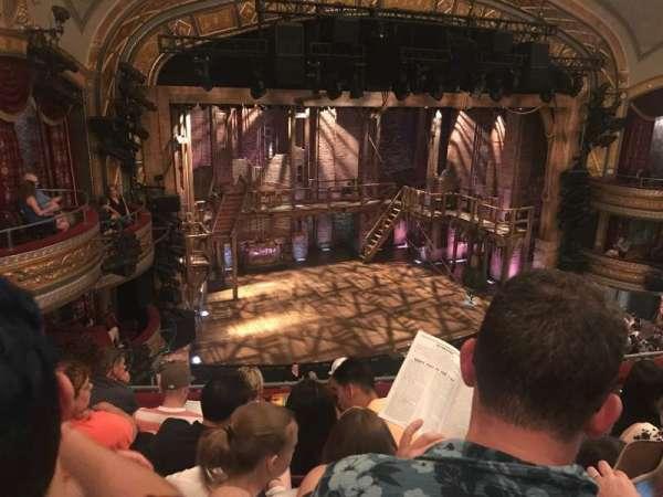 Richard Rodgers Theatre, secção: Front Mezzanine L, fila: E, lugar: 19