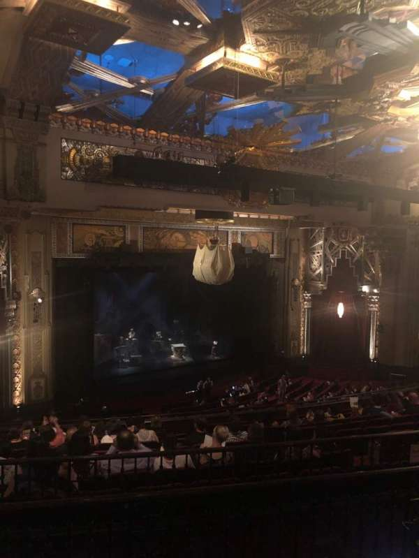 Hollywood Pantages Theatre, secção: Mezzanine L, fila: L, lugar: 19