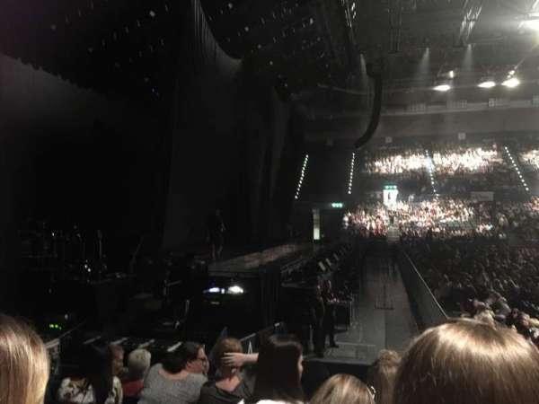Arena Birmingham, secção: 12 Lower, fila: K, lugar: 527-528
