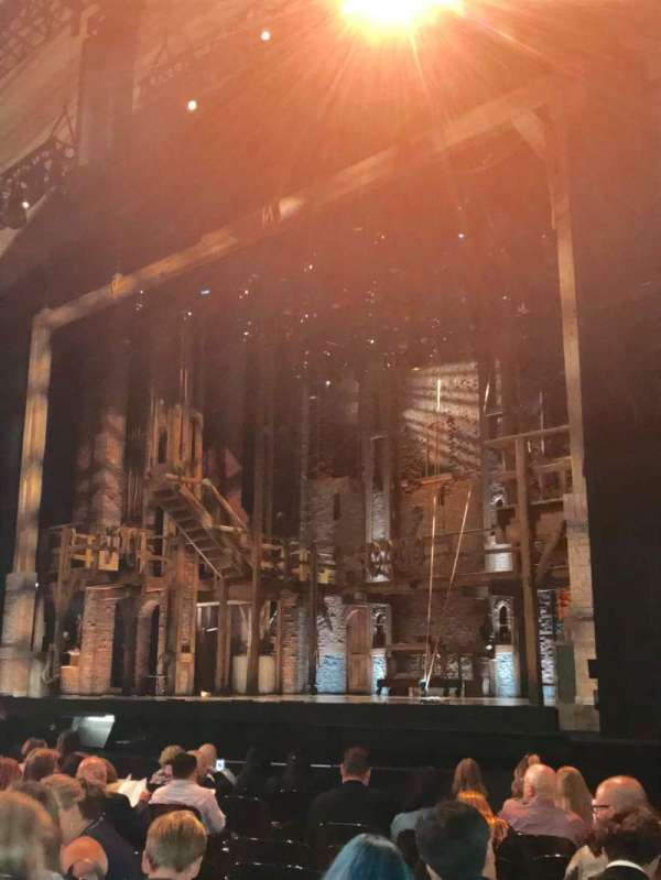 Orpheum Theatre (San Francisco), secção: Orchestra L, fila: M, lugar: 14