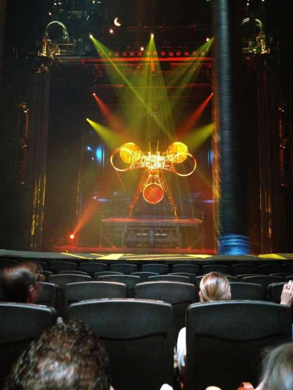 KÀ Theatre - MGM Grand, secção: 102, fila: G, lugar: 14