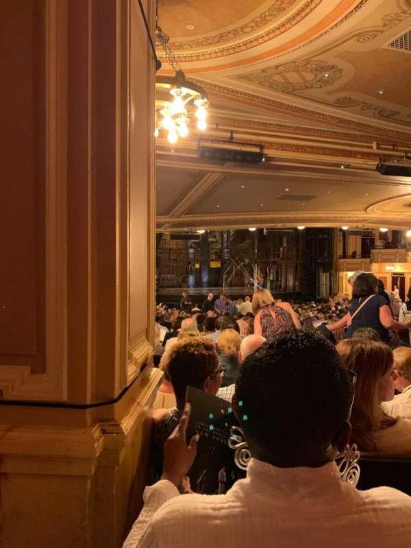 Hippodrome Theatre, secção: Orchestra, fila: FF, lugar: 9