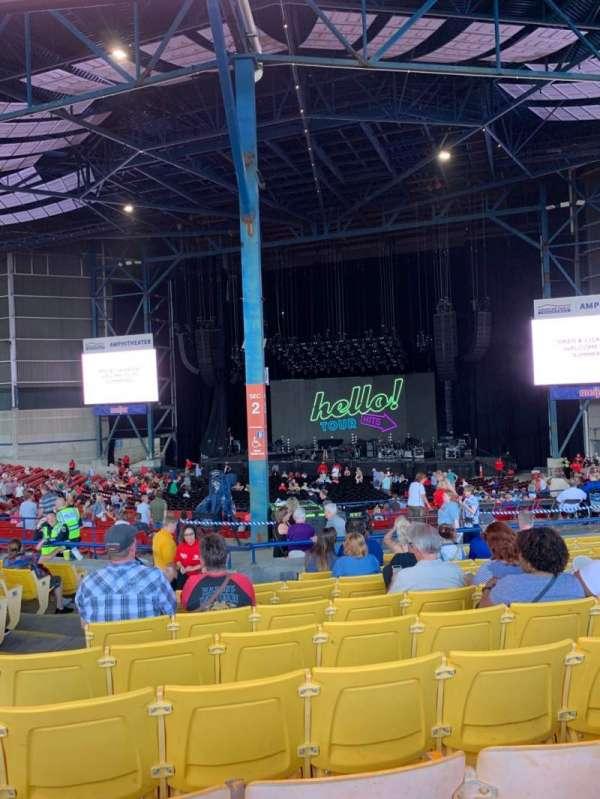 American Family Insurance Amphitheater, secção: 6, fila: L, lugar: 52