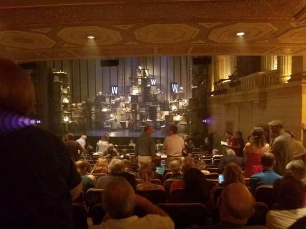 Samuel J. Friedman Theatre, secção: Orchestra R, fila: P, lugar: 120