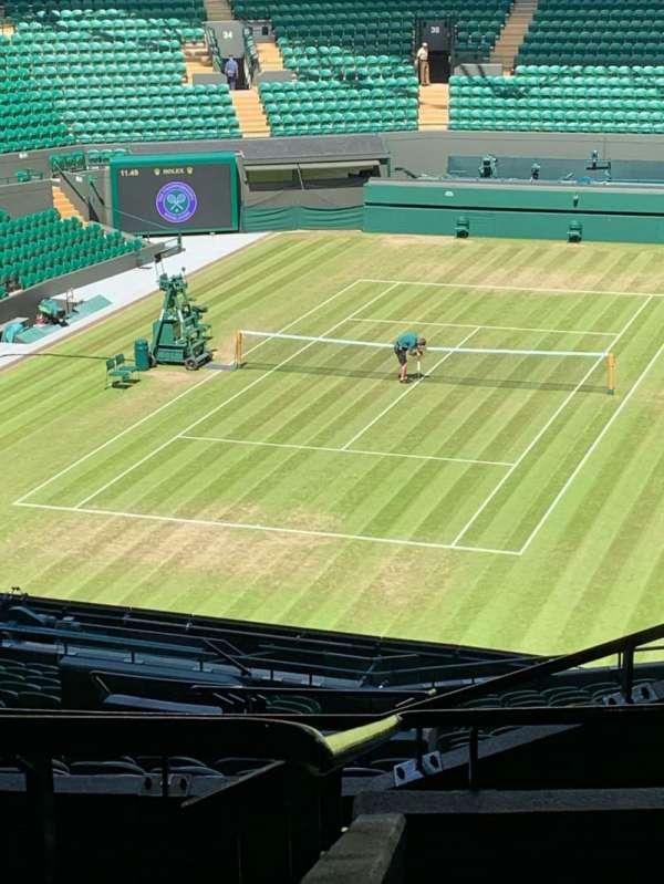 Wimbledon, Court No. 1, secção: 3, fila: 21, lugar: 251