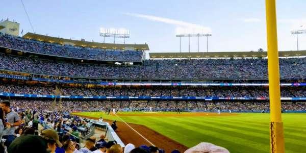 Dodger Stadium, secção: 48FD, fila: G, lugar: 15