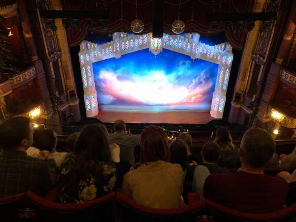 Palace Theatre (Manchester), secção: Grand tier, fila: E