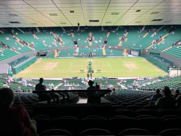 Wimbledon, Court No. 1, secção: 35, fila: Z, lugar: 422