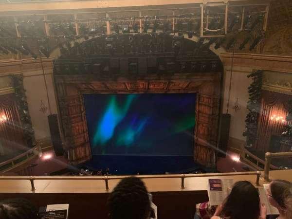 St. James Theatre, secção: Balcony C, fila: C, lugar: 103