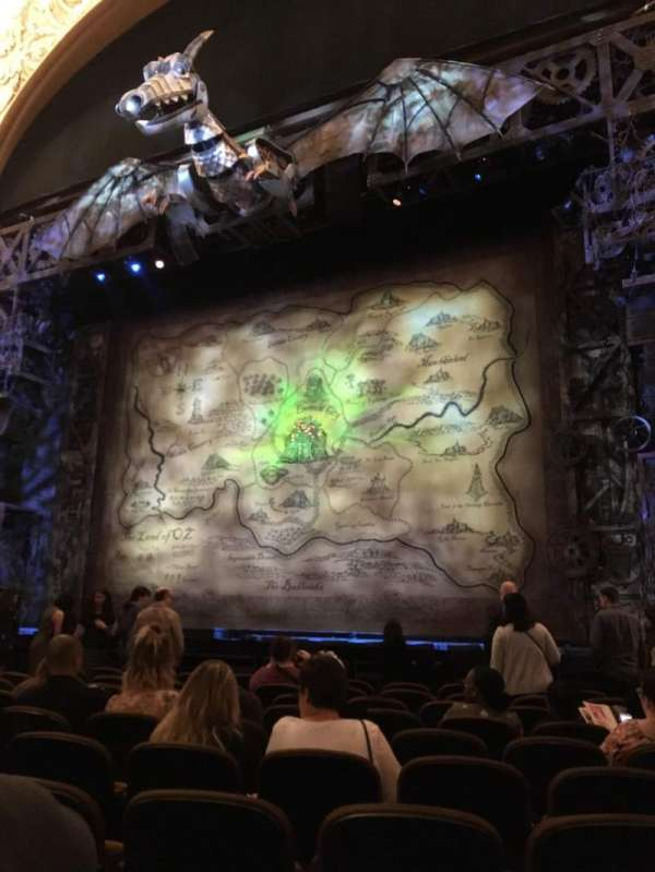 Paramount Theatre (Seattle), secção: MF2, fila: K, lugar: 14