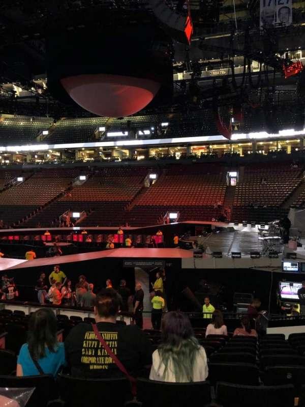 Scotiabank Arena, secção: 116A, fila: 13