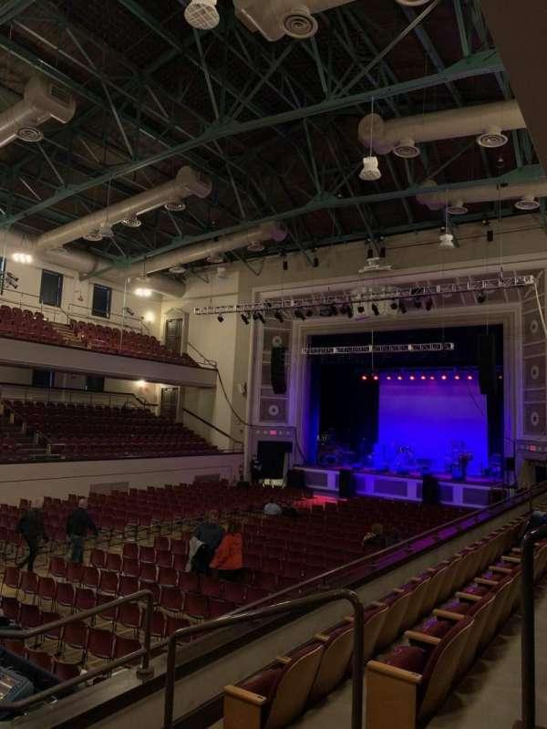 Plymouth Memorial Hall, secção: Mezzanine Right 3, fila: C, lugar: 37