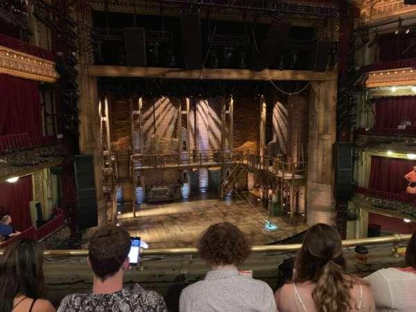 CIBC Theatre, secção: Mezzanine LC, fila: C, lugar: 317