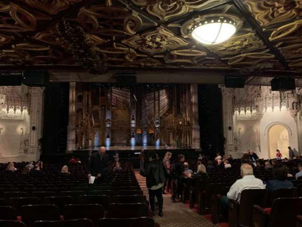 Orpheum Theatre (San Francisco), secção: Orchestra LC, fila: AA, lugar: 101