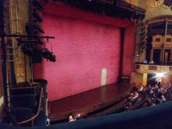 Shubert theatre, secção: mezzanine l, fila: C, lugar: 25