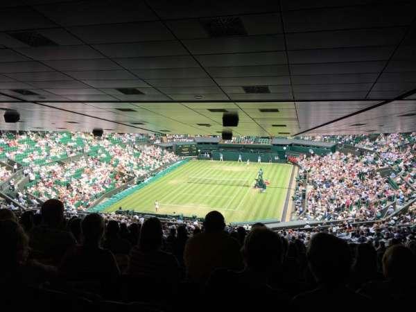 Wimbledon, Centre Court, secção: 510, fila: ZE, lugar: 186