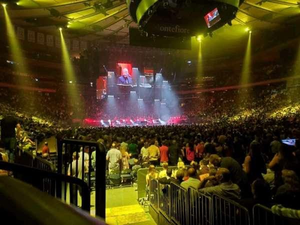 Madison Square Garden, secção: 120, fila: 3, lugar: 3
