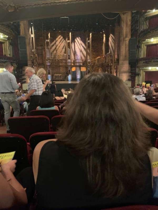 CIBC Theatre, secção: Orchestra C, fila: W, lugar: 105