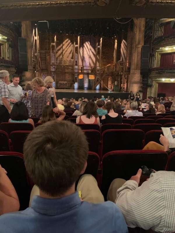 CIBC Theatre, secção: Orchestra C, fila: W, lugar: 106
